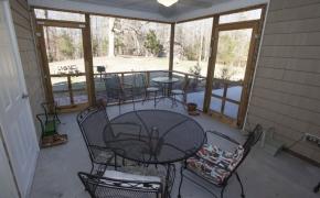 Guest House Back Porch