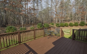 9000 New Century Drive Back Deck