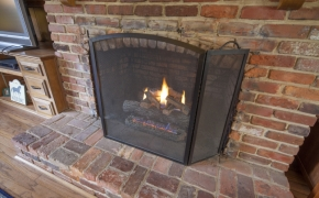 5401Buffalo Road Fireplace