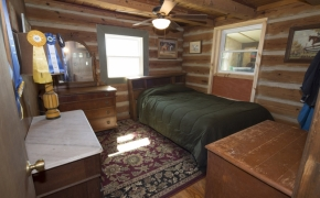 Log Cabin Road bedroom 1