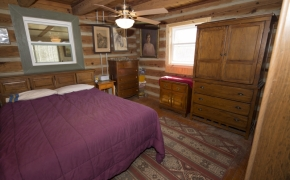 Log Cabin Road bedroom 2