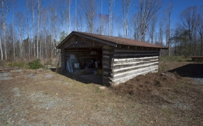 Log Cabin Road carport 2