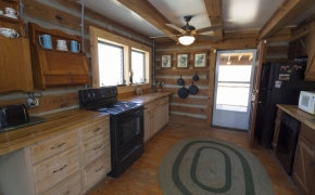 Log Cabin Road kitchen
