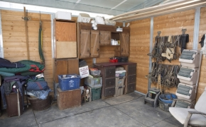 Log Cabin Road storage 1