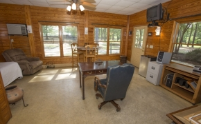 Equestrian 9 Stall Barn Office
