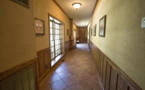 Equestrian Arena Hallway
