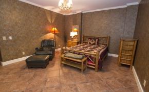 Equestrian Arena Master Bedroom