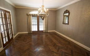 Equestrian Home Dining Room