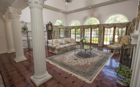 Equestrian Home Living Room