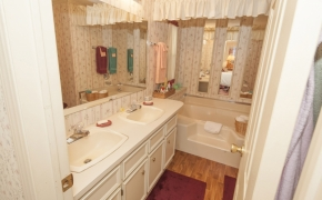 Deep River Master bathroomn