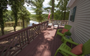 Deep River deck view