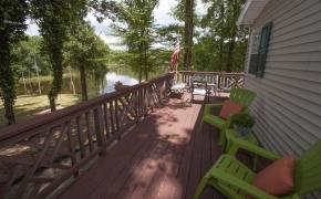 Deep River deck view