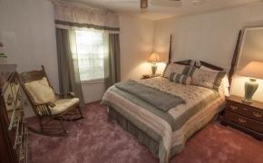 Deep river bedroom