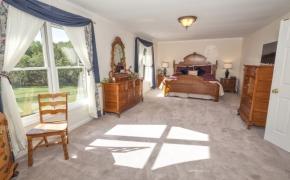 Fox Spring Farm Master Bedroom