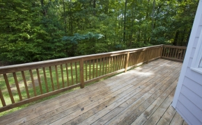 Green Hill Road back deck