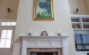 1058 McLaurin Road Fireplace