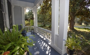 Magnolia Manor Front Porch