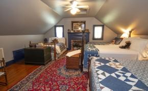 Magnolia Manor Loft Bedroom