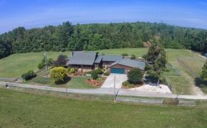 Horse Farm in Pleasant Garden NC