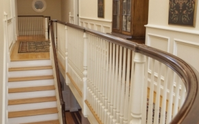 Plantation Style Homes Stairwell 2