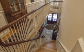 Plantation Style Homes Stairwell