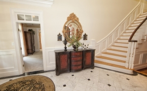 Southern Plantation Home Entryway