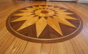 Southern Plantation Home Flooring