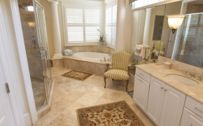 Southern Plantation Home Master Bath 2