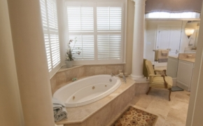 Southern Plantation Home Master Bath
