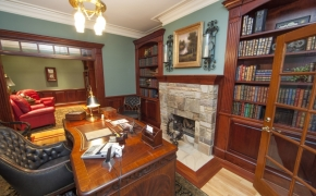 Southern Plantation Home Office