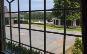 Southern Plantation Home View