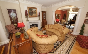 Southern Plantation Living Room