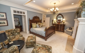 Southern Plantation Master Bedroom2