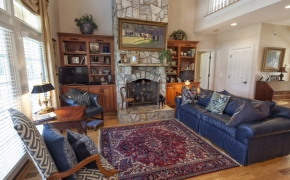 Sunrise Ridge Farm Living Room