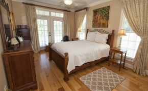 Sunrise Ridge Farm Master Bedroom