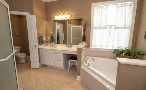 7306 Wiley Mangum Road Master Bath