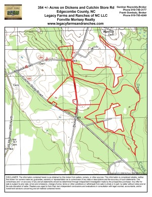 354 Acres on Dickens and Cutchins Rd