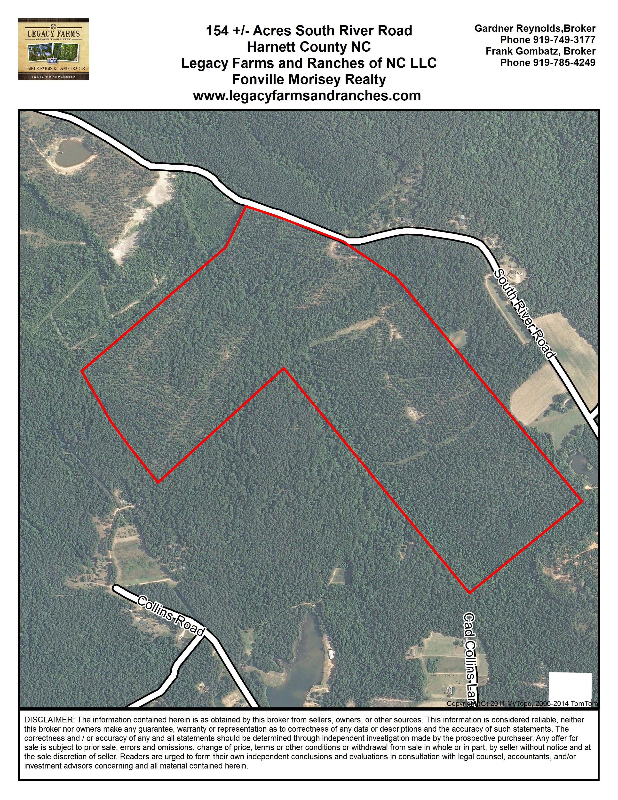 Sand For Sale >> 154 Acres on South River Road near Lillington in Harnett County NC for sale