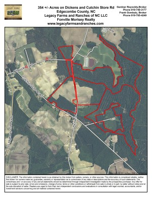 354 Acres on Dickens and Cutchins Road