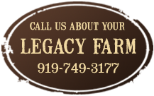 Buying Rural Land or NC Farms is easy at Legacy Farms and Ranches