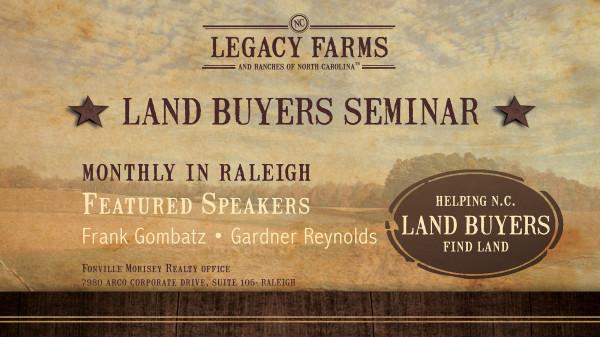 Land Buyers Seminar & Video