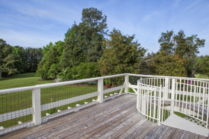 Creedmoor, NC - Granville County Farm - Deck View