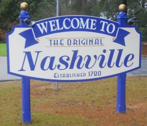 Nashville, NC was formed several years before its more famous Tennessee sister town.