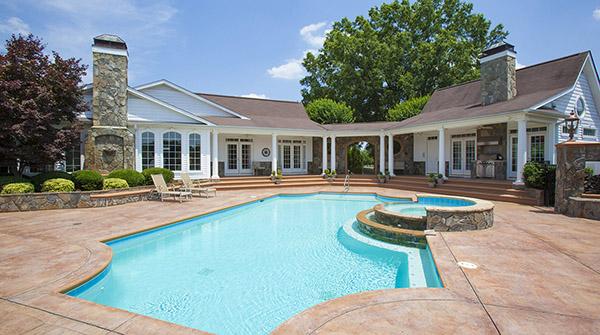 Southern Plantation Pool House