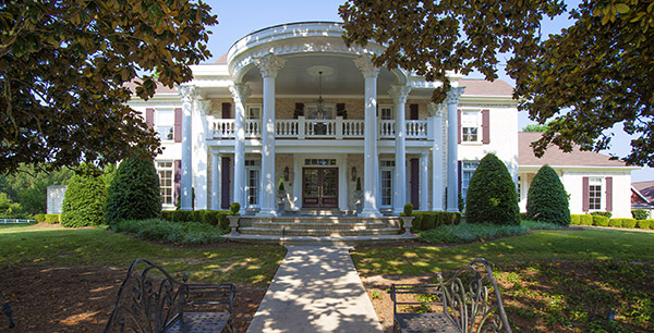 Southern plantation homes in nc photos for Plantation columns