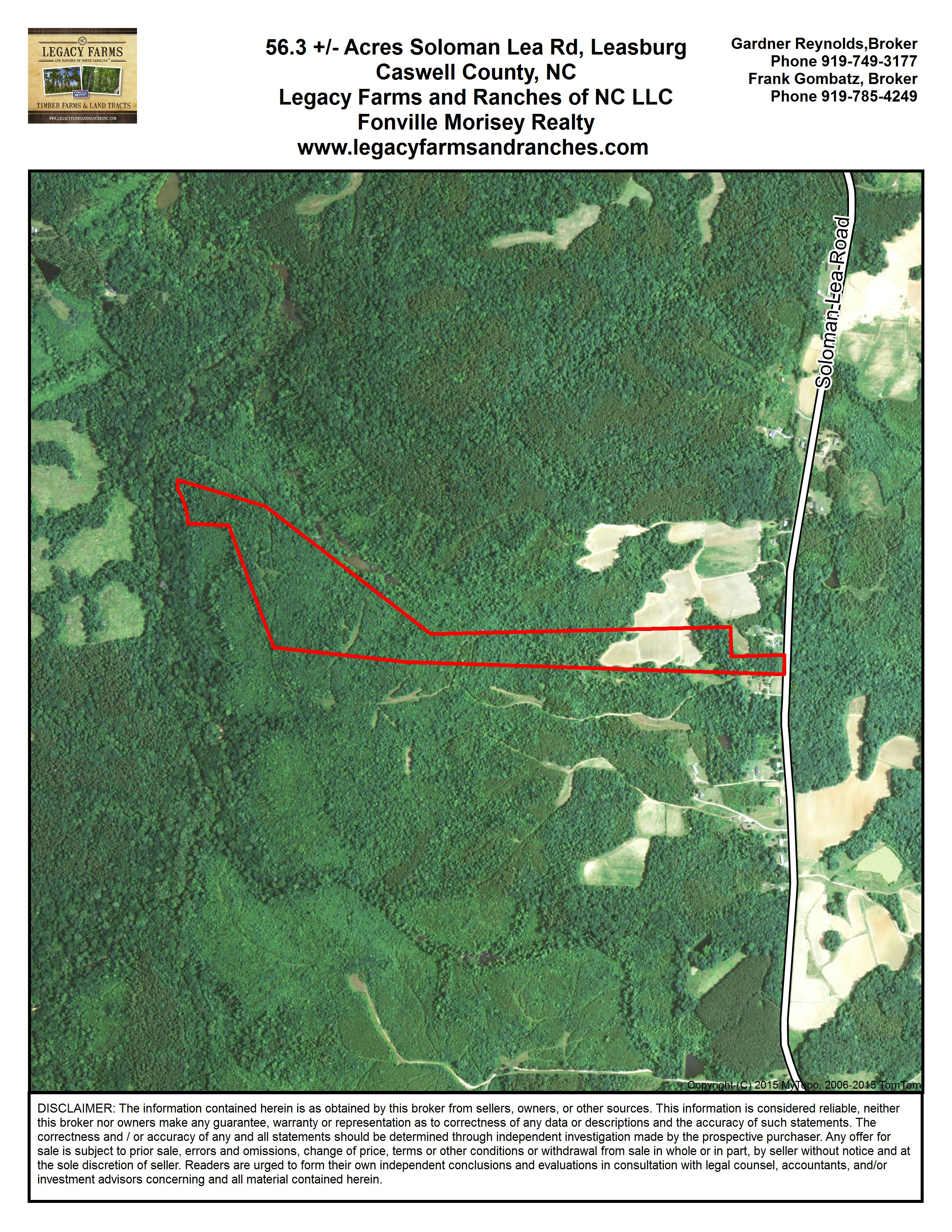 Sand For Sale >> Caswell County Hunting Land for sale