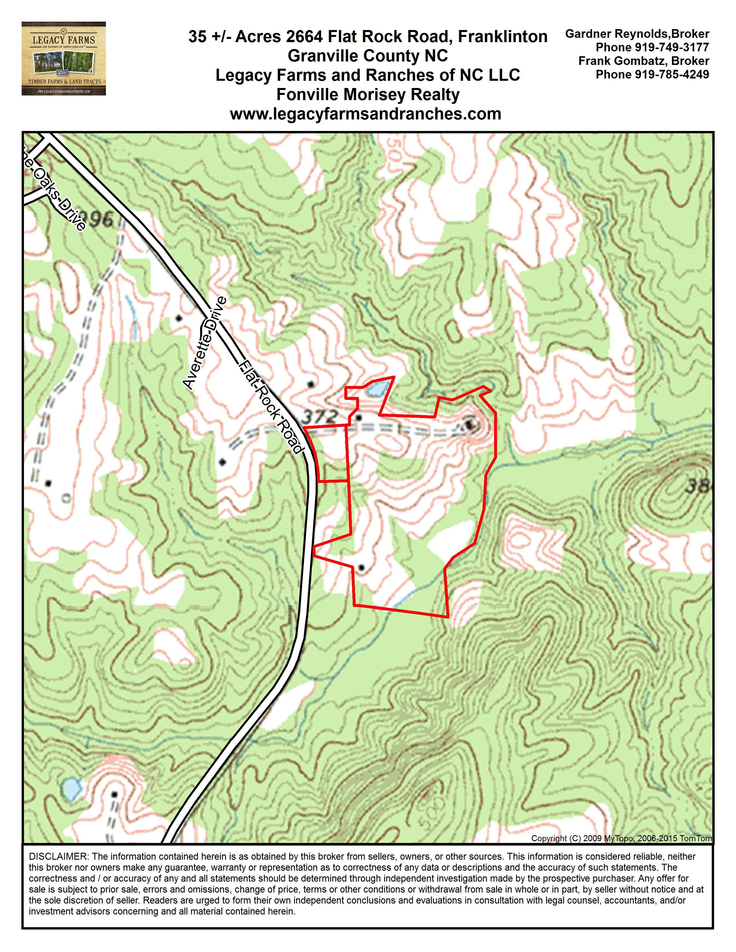 Franklinton Nc Map.Mls 2013881 2664 Flat Rock Road Franklinton Nc 27525