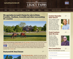 Find your dream farm at Legacy Farms and Ranches of North Carolina