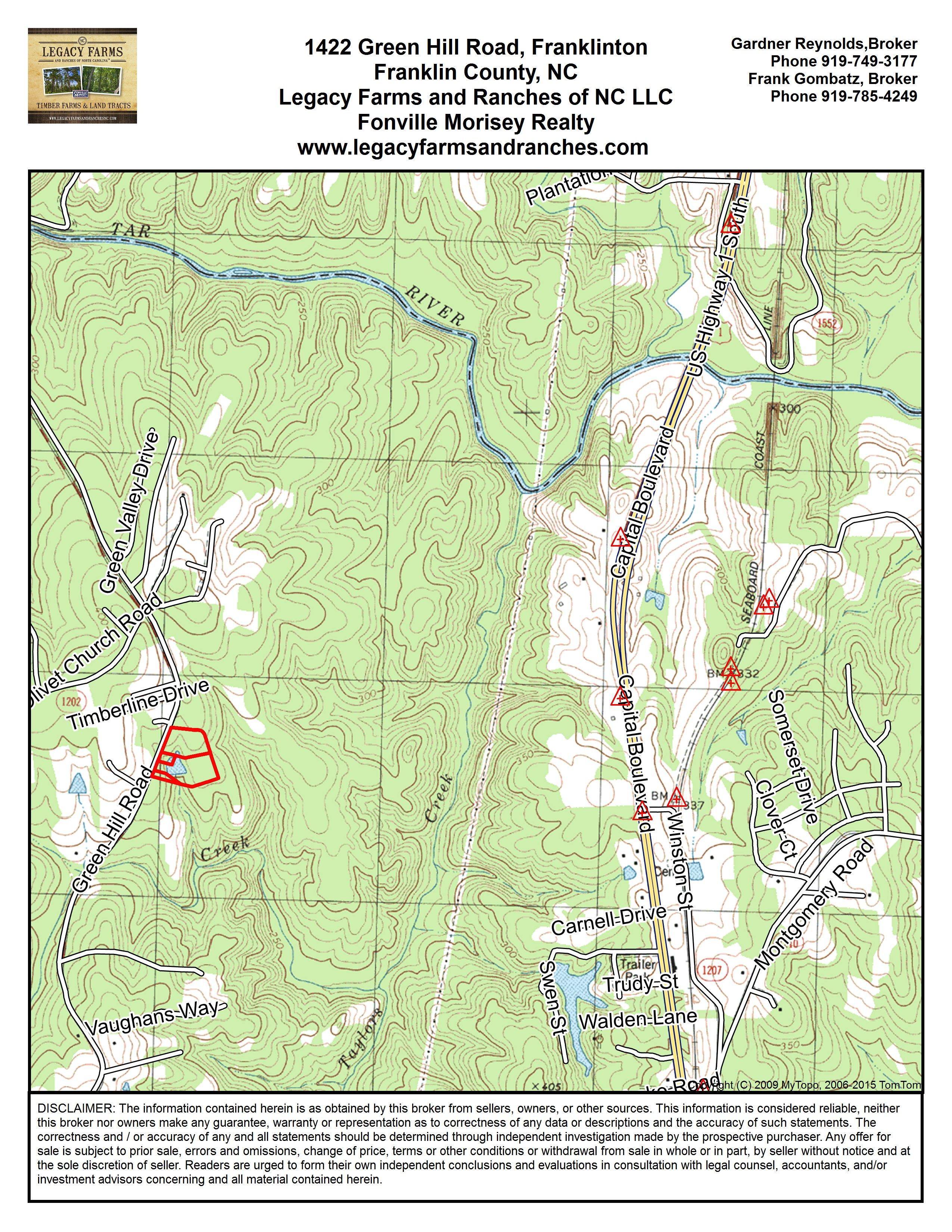 Mls 2030541on Green Hill Road Farm In Franklinton