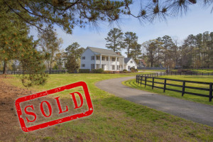Sold Farm House on Buffalo Road Raleigh